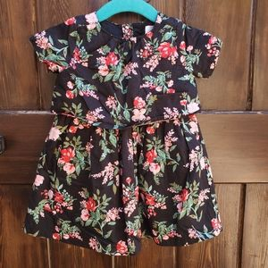 🥑 CARTER'S Floral Lined Party Dress